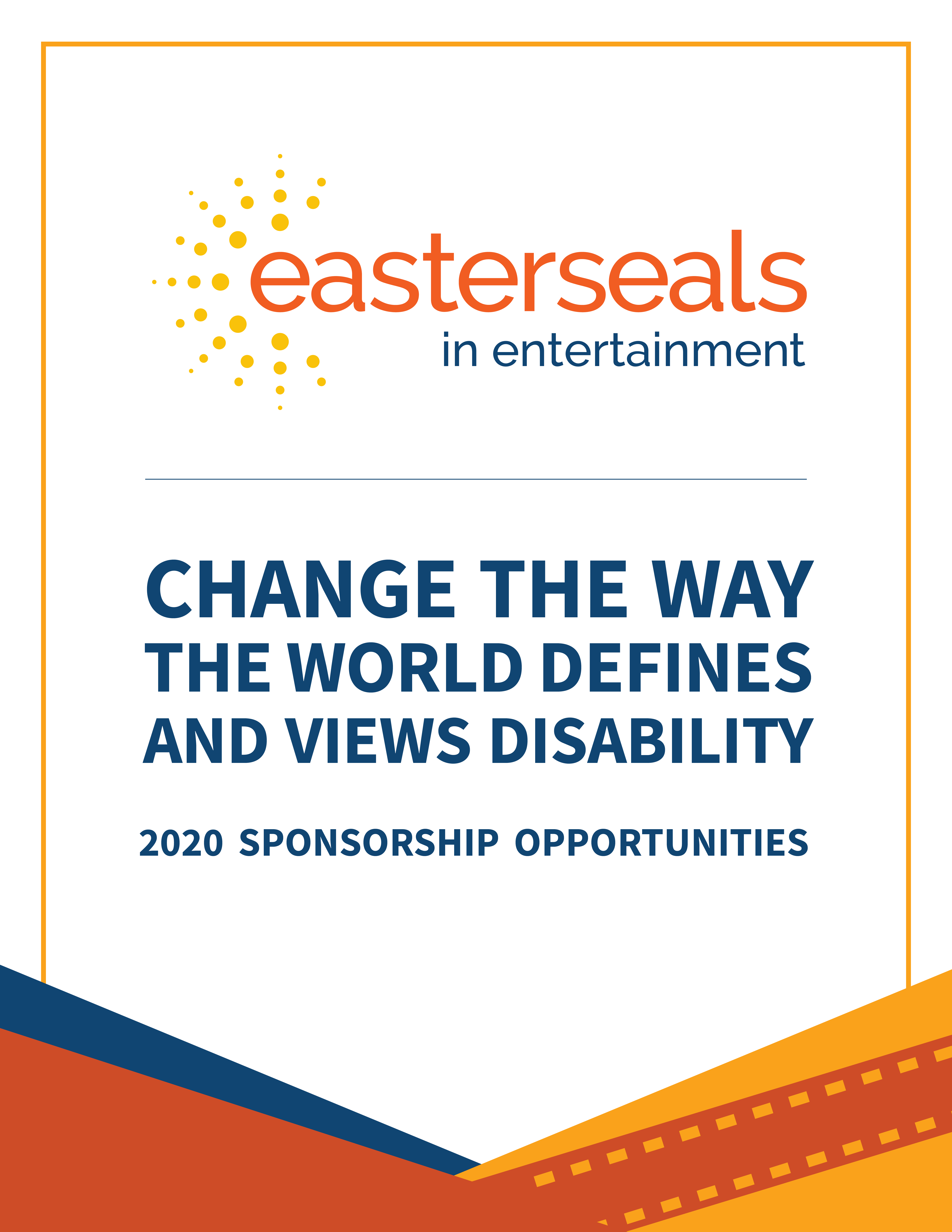 Change the way the world defines and views disability 2020 sponsorship opportunities thumbnail image