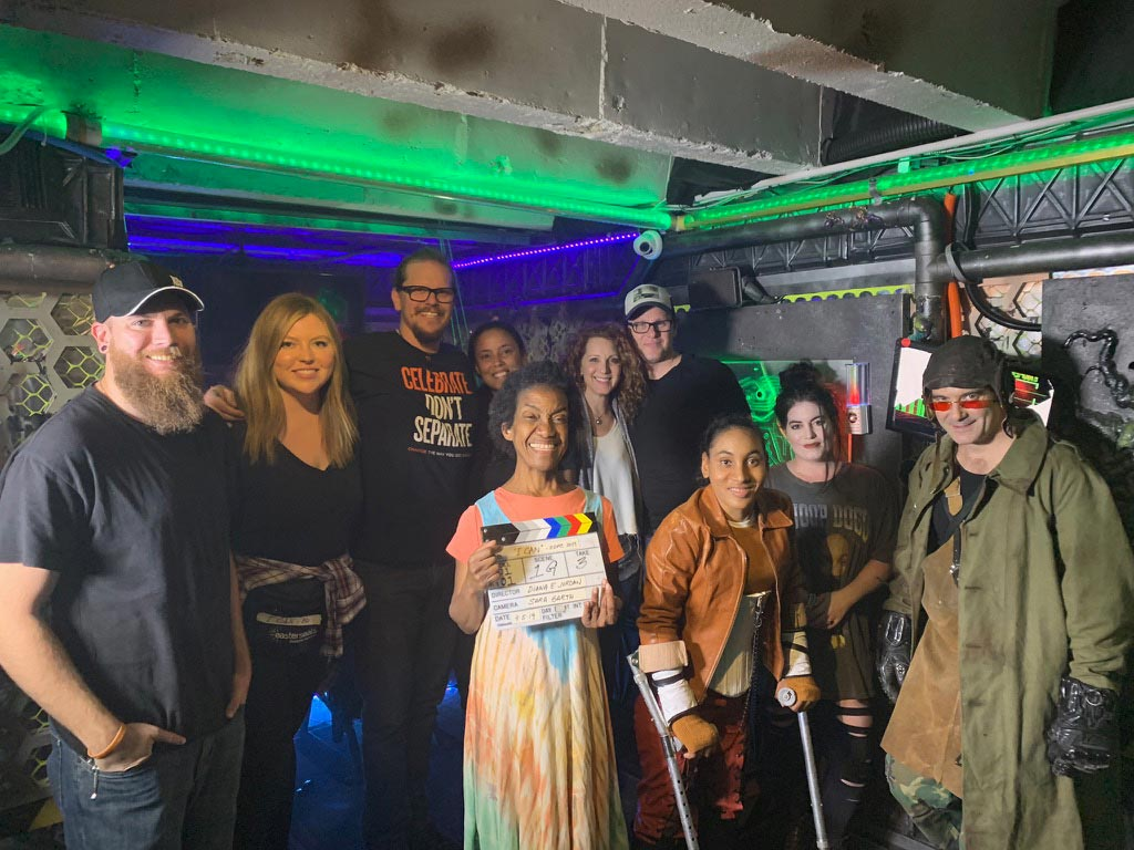 Space movie Cast and Crew group photo