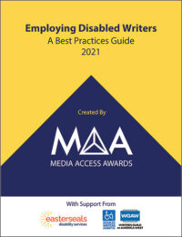 MAA Best Practices for Hiring Disabled Writers 2021